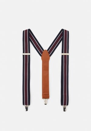 PHILLY BRACES - Ceinture - bordeaux/navy