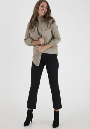 DRLOUNTAIN  - Jeans bootcut - black