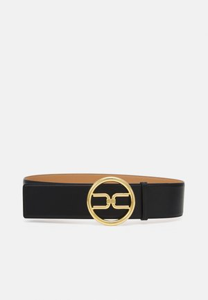 RING LOGO BELT - Waist belt - nero