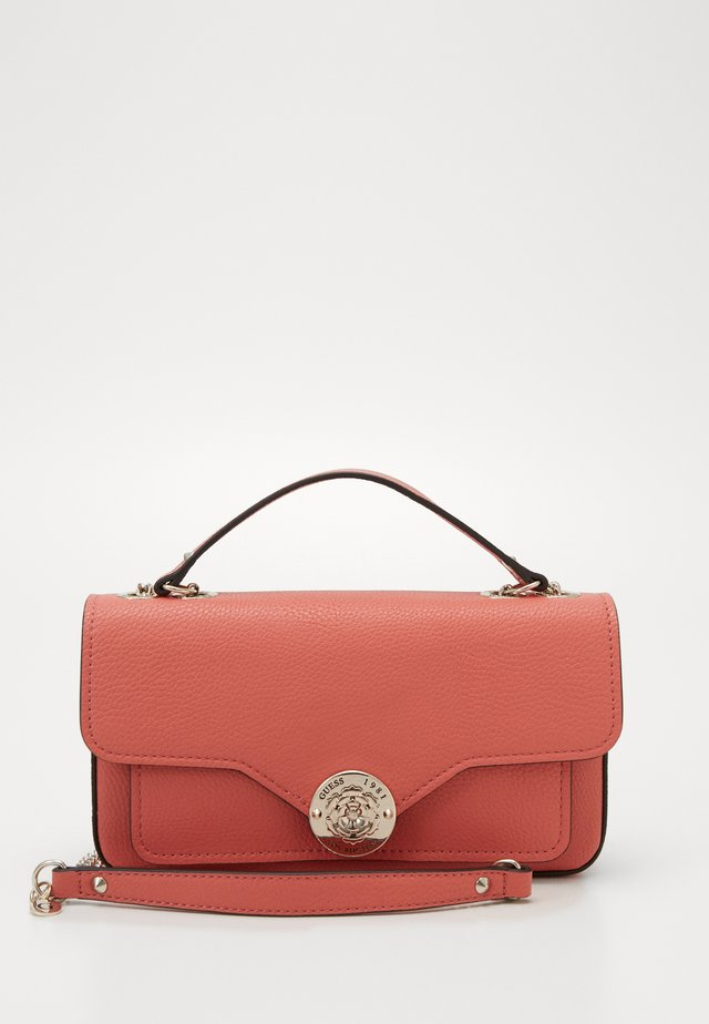 BELLE ISLE XBODY FLAP - Handbag - coral