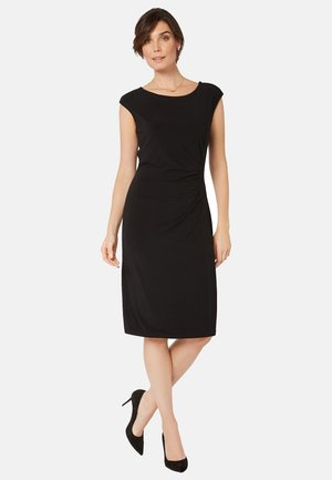 MICHELLE - Shift dress - black