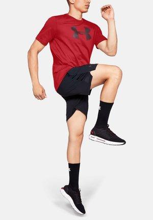 UA BIG LOGO SS - Basic T-shirt - red