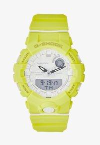 SHOCK - Digital watch - gelb