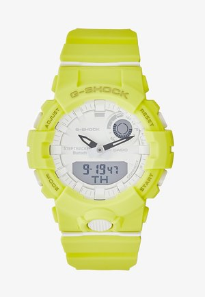SHOCK - Digital watch - gelb