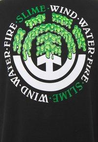 Element - PROTON SEAL - Print T-shirt - flint black - 2