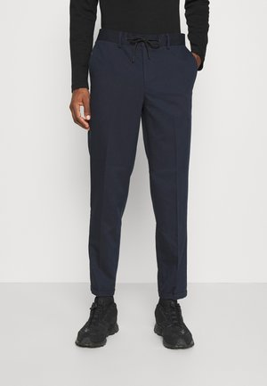 SLHSLIMTAPERED GUARD STRING PANTS  - Pantaloni - navy