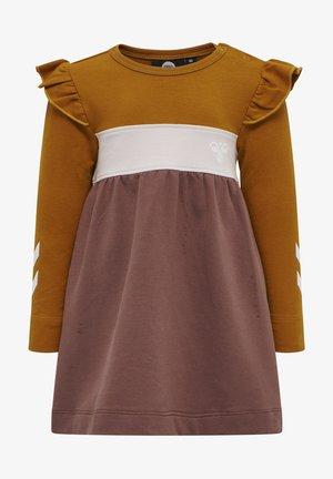 Jersey dress - marron