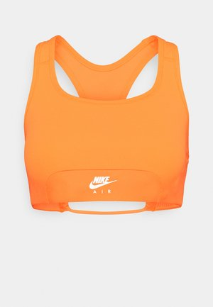 AIR BRA - Sport-bh met medium support - bright mango/silver