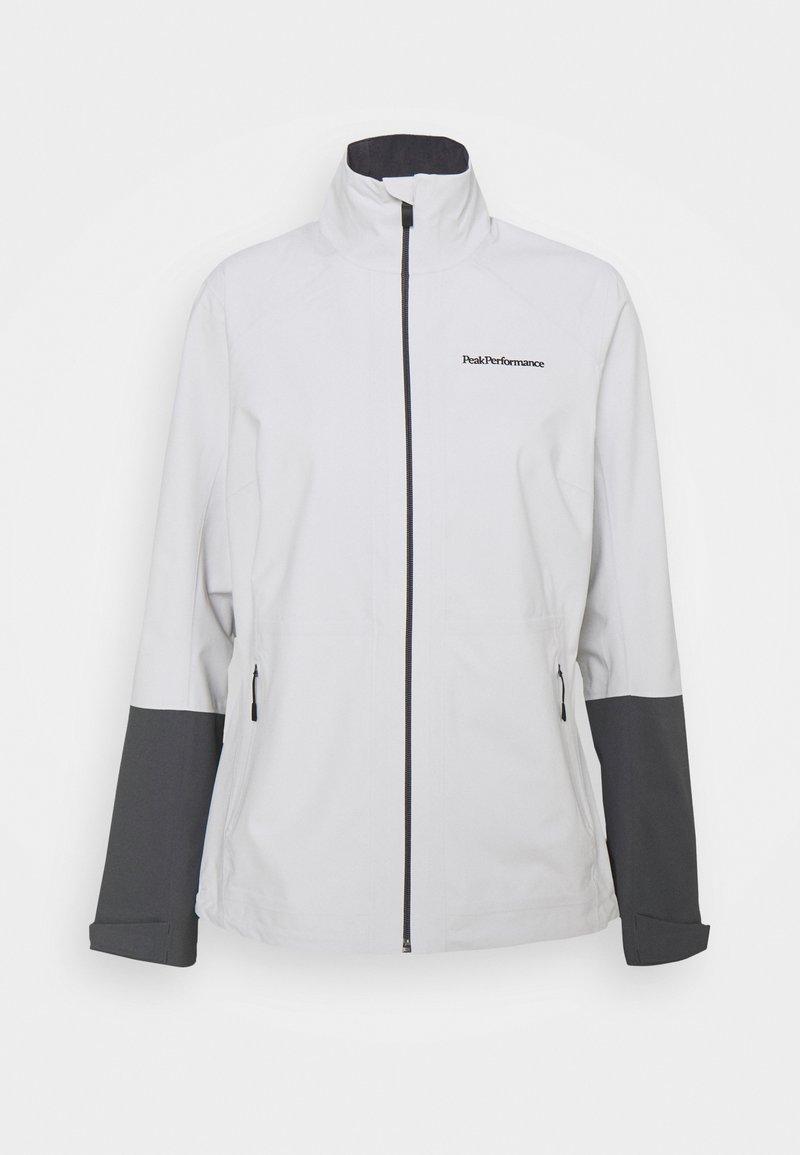 Peak Performance - VELOX JACKET - Waterproof jacket - antarctica deep earth