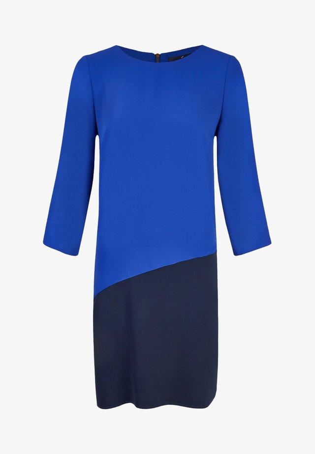 MIT FARBKONTRAST - Day dress - dark blue