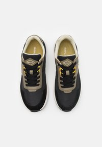 Replay - STONE MAN - Sneakers laag - black/military green/yellow - 3