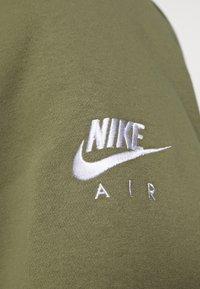 Nike Sportswear - AIR HOODIE - Sweat à capuche - medium olive/cargo khaki/white - 3