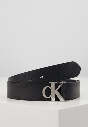 GYM CLASS MONOGRAM 35MM - Belt - black