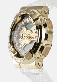 G-SHOCK - GOLD-INGOT TRANSPARENT GM-110SG UNISEX - Digital watch - gold-coloured/transparent - 3