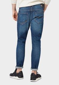 TOM TAILOR DENIM - CONROY TAPERED  - Jeans Tapered Fit - dark blue denim - 2