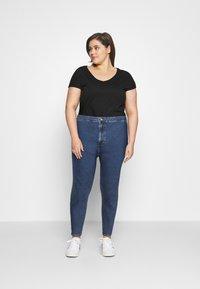 Even&Odd Curvy - JEGGING - Jeans Skinny Fit - blue denim - 1