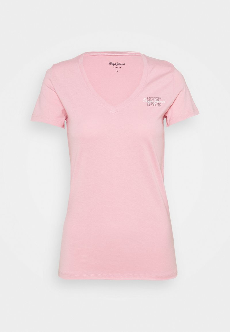 Pepe Jeans - Basic T-shirt - pink
