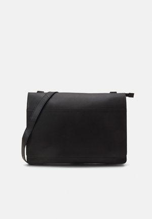 LEATHER - Borsa a tracolla - black