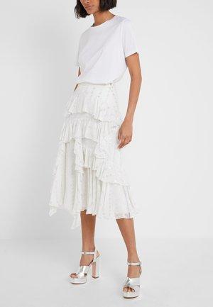 KALILA LOVE MIDI SKIRT - A-line skirt - ivory