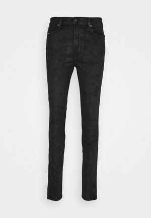 D-ISTORT-X-SP1 - Slim fit jeans - black