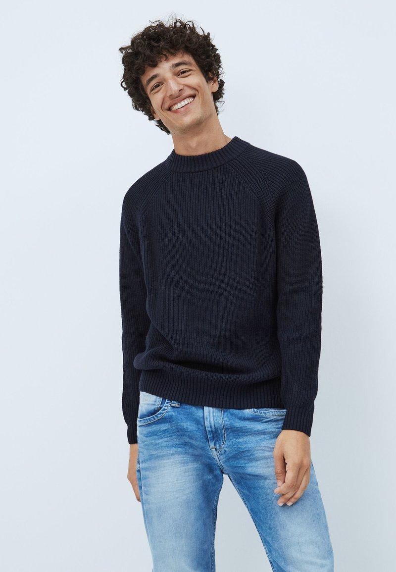 Pepe Jeans - ANGELO - Pullover - deepsea blau