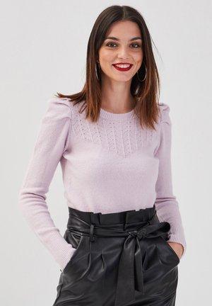 Jersey de punto - violet clair