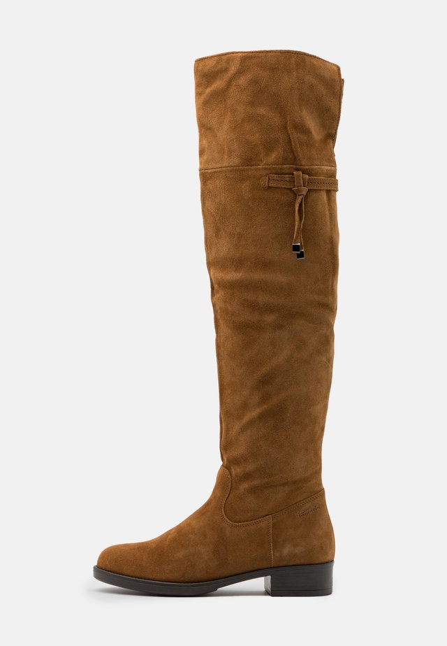 BOOTS - Over-the-knee boots - muscat