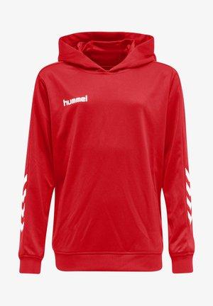 HMLPROMO POLY HOODIE - Sweatshirt - true red