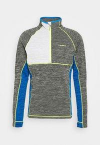 DENISON - Fleece jumper - lead grey