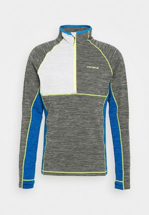 DENISON - Fleecepullover - lead grey