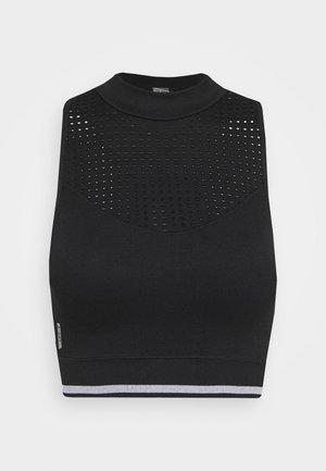 ONPAILA CIRCULAR SPORTS - Toppi - black/white