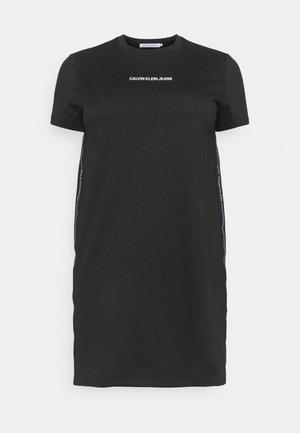 MILANO DRESS - Žerzejové šaty - black