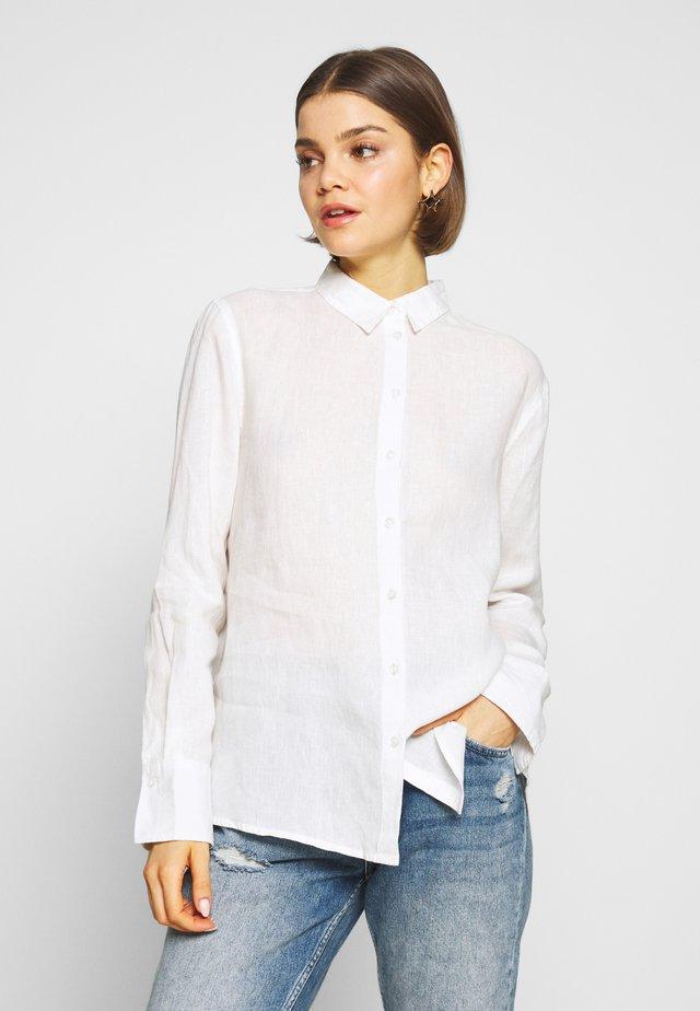 KIMBERLY SHIRT - Skjorte - offwhite
