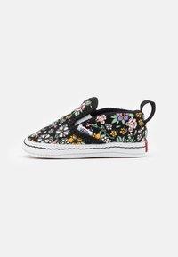 Vans - CRIB - First shoes - black/true white - 0