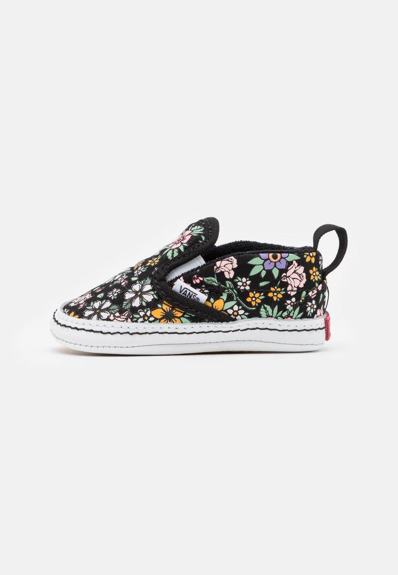 Vans - CRIB - First shoes - black/true white