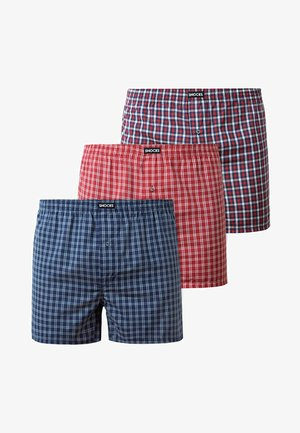 WOVEN - 3 PACK - Boxer shorts - small check