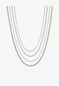 Topman - TWIST CHAIN MROW 4 PACK - Necklace - rhodium-coloured - 3