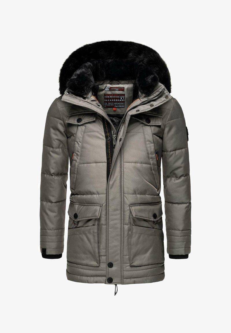 Navahoo - LUAAN - Winter coat - grey