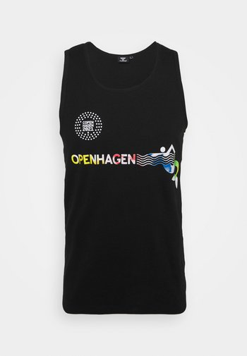 OPENHAGEN  - Toppi - black/multi colour