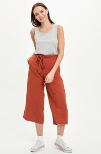 DeFacto - Trousers - orange - 1