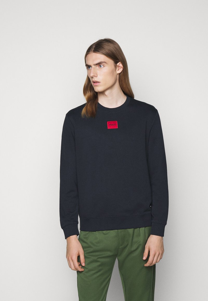 HUGO - DIRAGOL - Sweatshirt - dark blue