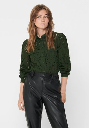 Button-down blouse - rosin