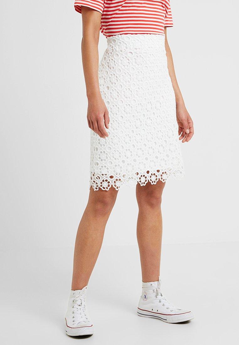 Anna Field Petite - Pencil skirt - white