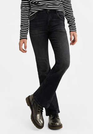 MEISJES  - Bootcut jeans - dark grey