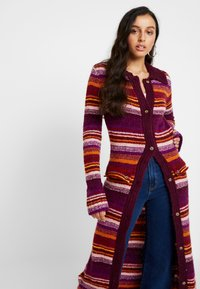 House of Holland - STRIPE CARDIGAN - Cardigan - pink multi - 4