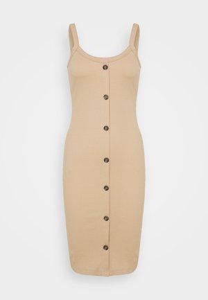 VMHELSINKI DRESS - Vestido ligero - beige
