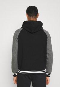 Polo Ralph Lauren - BASEBLHOODM LONG SLEEVE - Zip-up sweatshirt - black - 2
