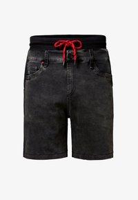 Desigual - PETER - Jeansshorts - black - 4