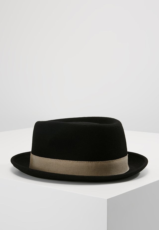 FIRENZE - Hat - black/beige