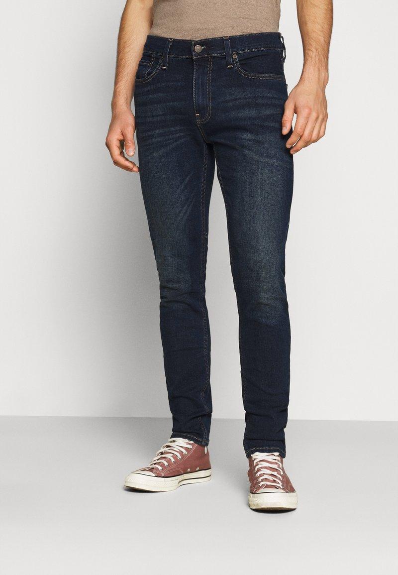 Hollister Co. - Slim fit jeans - dark blue denim